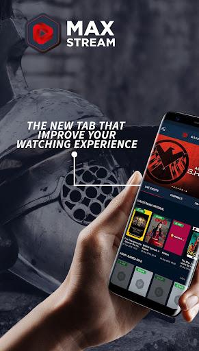MAXstream - Stream Live Sports, TV Shows & Movies 1.2.6 screenshots 1