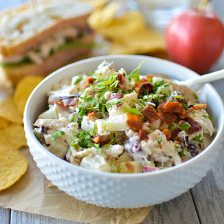 Harvest Chicken Salad with Apple and Pecans
