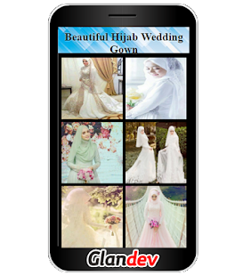 Beautiful Hijab Wedding Gown - náhled