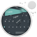 GO Keyboard плоским Android icon