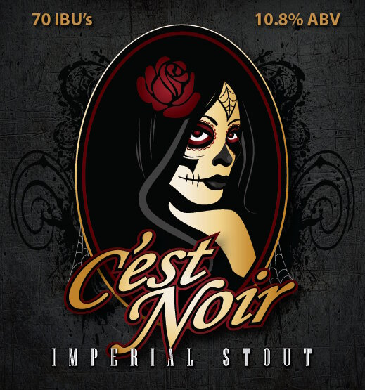 Logo of Working Man C'est Noir Imperial Stout