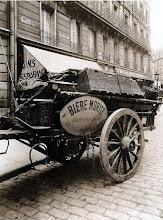 Photo: especialmente dedicada para Benoit. .... Carro de cervecería, 1910 .- EUGÈNE ATGET