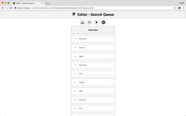 Search Queue