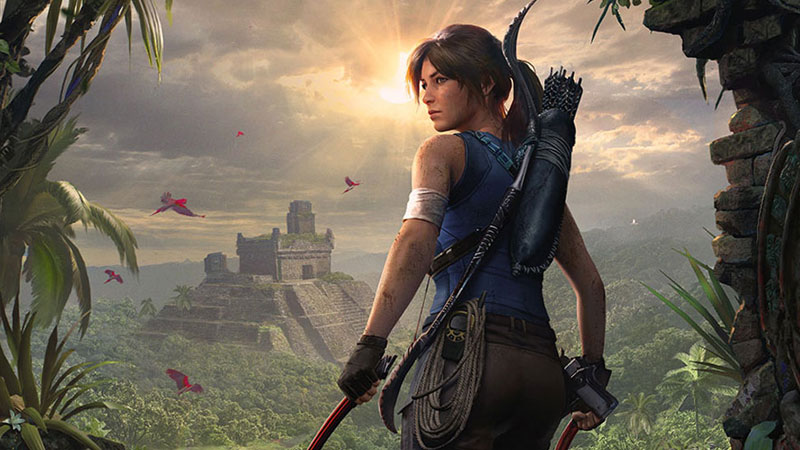 Lara Croft Video Game Character
