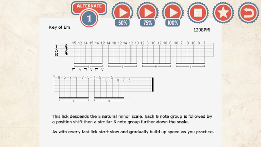 85 Metal Guitar Licks screenshot