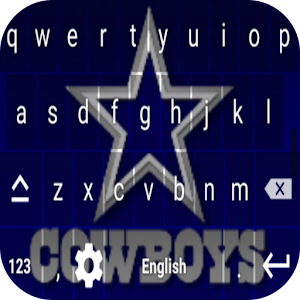 Dallas Cowboys Keyboard Theme