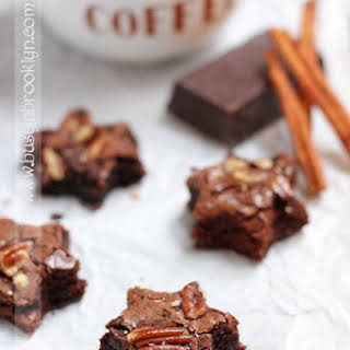Mexican Hot Chocolate Brownies.