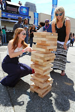 Photo: Giant Jenga at the 2014 Beer Carnival, Atlanta, Georgia