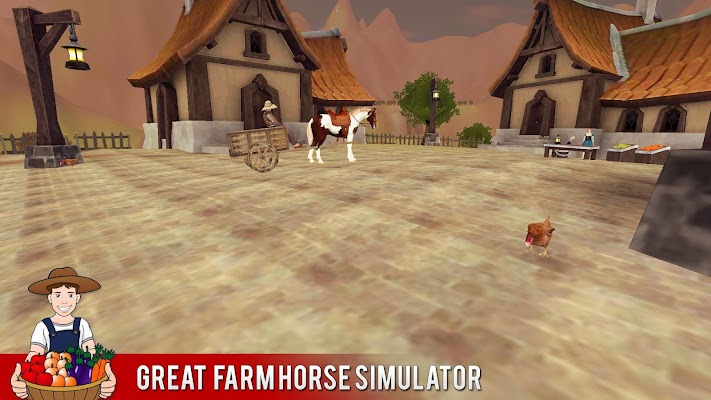 Farm Horse Simulator - screenshot