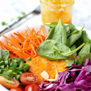 Carrot Ginger Miso Dressing