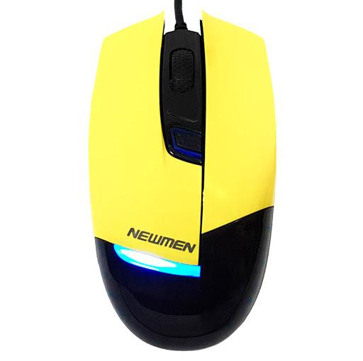 Chuột máy tính Newmen G10 (Vàng)