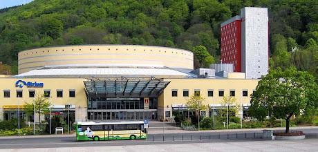 Photo: Im Suhler Congresscentrum befindet sich das Fahrzeugmuseum Suhl