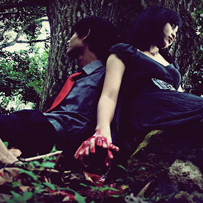 Till death.... by Mel Nakamura - People Couples