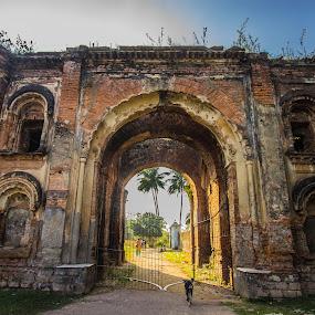 BETRAYAL GATE-NEMAK HARAM DEURI by Arijit Banerjee - Buildings & Architecture Public & Historical ( gateway, exterior, historical buildings, buildings, architectural detail, architecture )