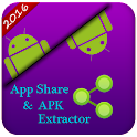 App Share and APK Extractor icon