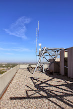 Photo: VE4WDR on the antenna structure