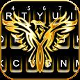 Gold Eagle Keyboard Theme