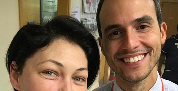 Emma Willis undergoes surgery on a 'horribly infected appendix'