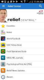 Relief Central- screenshot thumbnail
