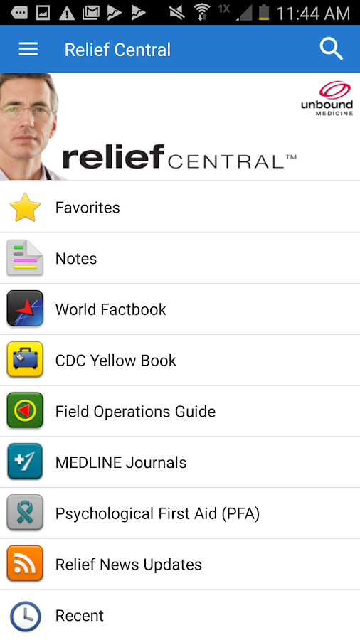 Relief Central- screenshot
