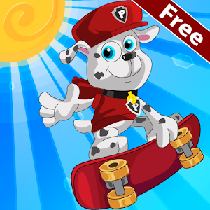 Paw Puppy The Skater for PC and MAC