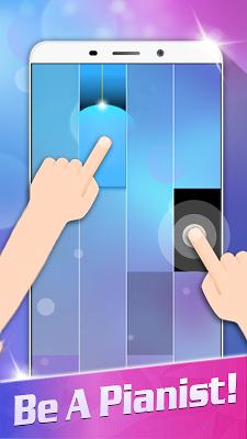 Magic White Piano: Music Tiles - screenshot