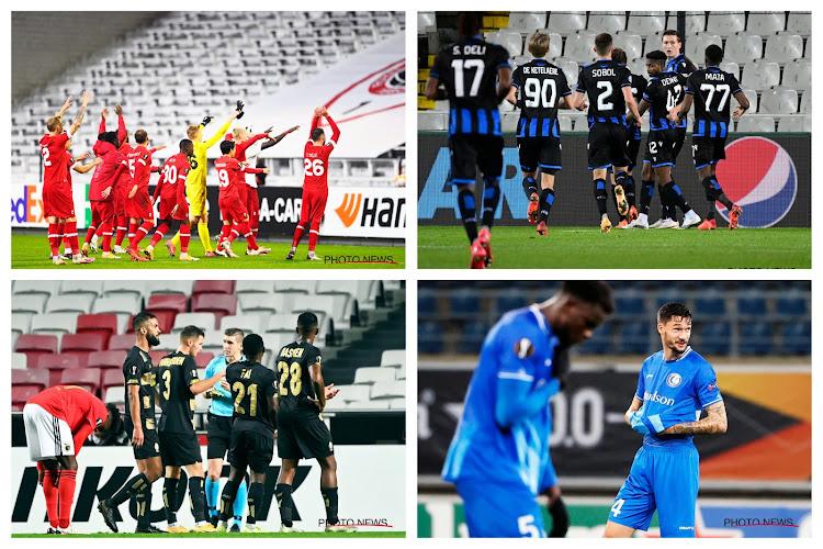 CIJFER VAN DE WEEK: 31.500: Club Brugge neemt het nu ook in Europa over, België rukt ook door Antwerp op in Europese rankings