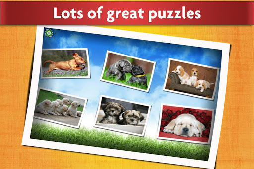 Dogs Jigsaw Puzzles Game - For Kids & Adults ud83dudc36 16.1 screenshots 2