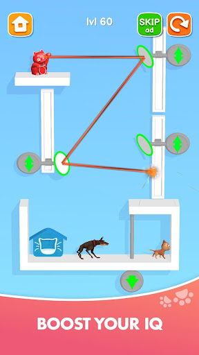 Kitten Rescue - Pin Pull apkpoly screenshots 3