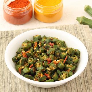 Bhindi Without Onion Recipes.