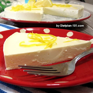 Low Carb Chilled Lemon Cheesecake