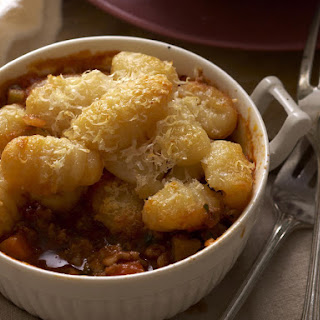 Shepherd's Pie with Gnocchi Topping