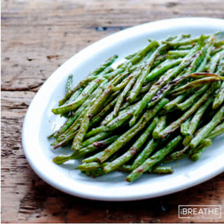 Moroccan Roasted Green Beans - Low Carb & Gluten Free.