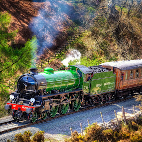 by Martin Tyson - Transportation Trains ( uk, train, steam )