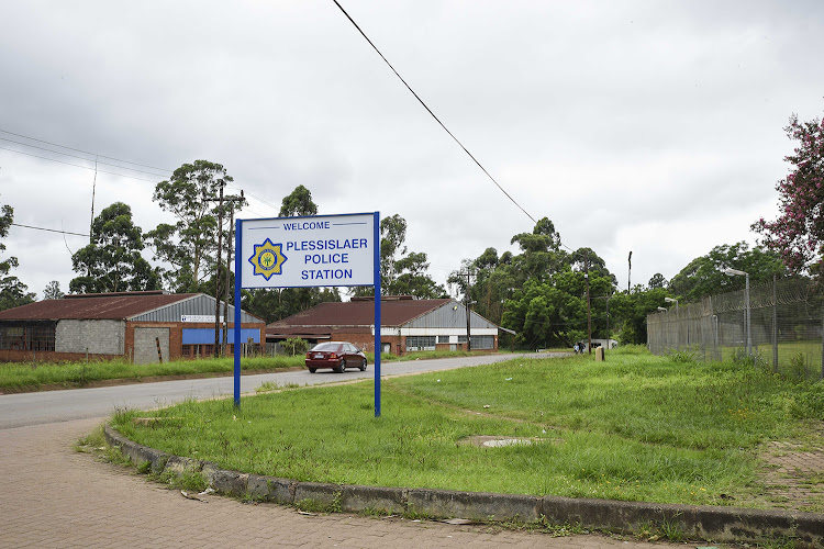 Plessislair Police Station is situated near to where the Laduma High murder took place.
