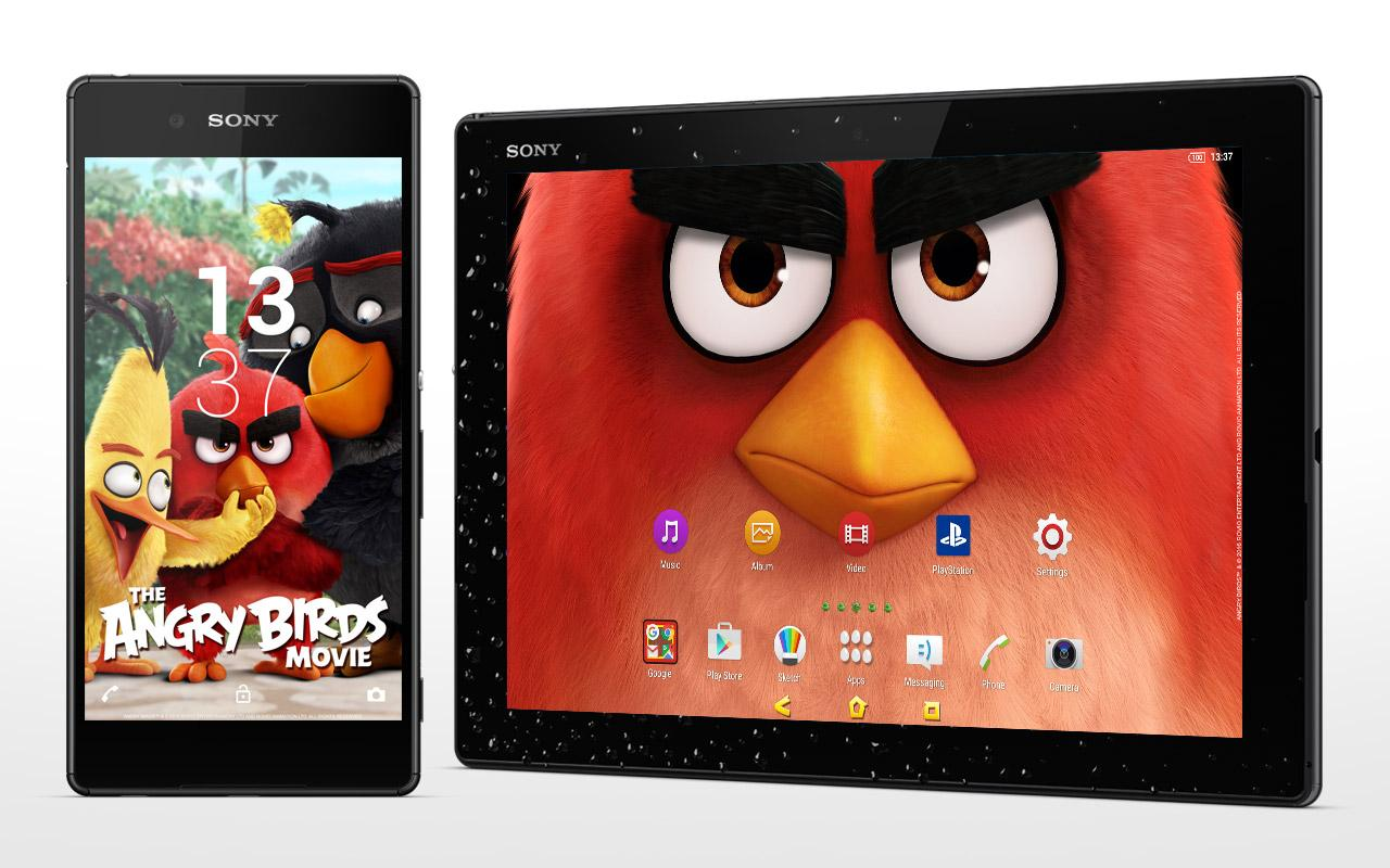 XPERIA™ The Angry Birds Movie Theme- screenshot