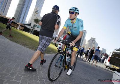 La réaction de Grivko après son exclusion au Tour de Dubaï
