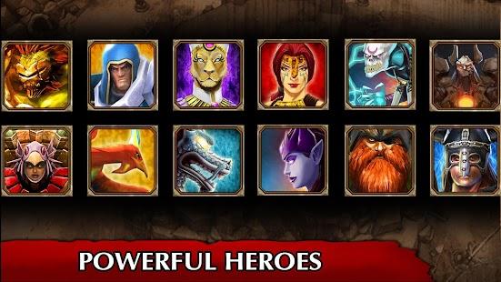 Legendary Heroes MOBA Screenshot
