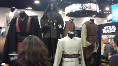 Photo: Floor - costumes from Star Wars