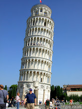 Photo: The leaning tower of Pisa