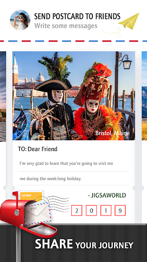 Jigsaw Journey u2013 relajarse, viajar y compartir capturas de pantalla 4