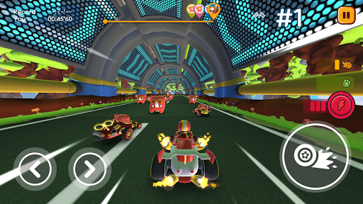 Starlit On Wheels: Super Kart fond d'écran 2
