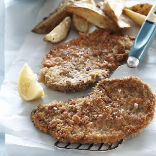Veal Schnitzel with Roasted Potatoes