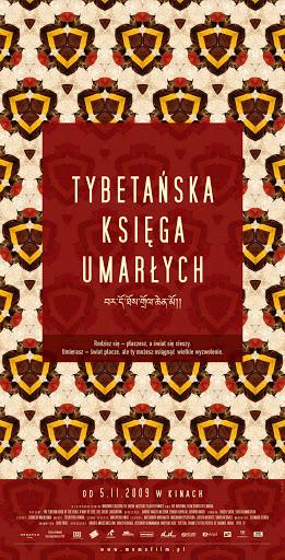Polski plakat filmu 'Tybetańska Księga Umarłych'