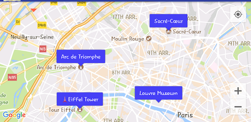 Map Bookmark / Streetview Player / GPX Viewer – Apps bei