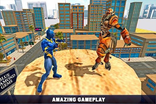 Panther Superhero Avenger vs Crime City apk screenshot