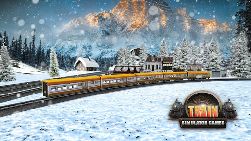 Impossible Indian Train Driving Game Sky City Sim  screenshots 3
