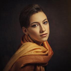 *** by Dmitry Baev - People Portraits of Women ( girl, beautiful, portrait beautiful woman, portrait, eyes )