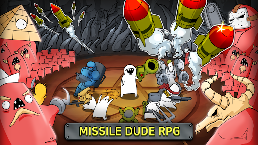 [VIP]Missile Dude RPG: Tap Tap Missile apkpoly screenshots 1