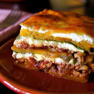 Gluten-Free Spiced Chicken Butternut Squash Lasagna.